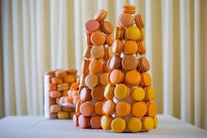 macaron - söt marängbaserad konfekt