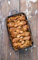 rå kycklingben foto