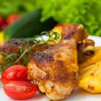 stekt kycklingben
