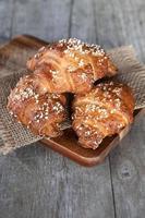 färska croissanter