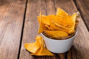 kryddig nachos foto