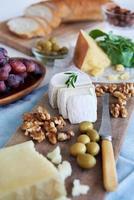 urval av ost för fest foto