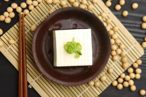 japansk mat tofu foto