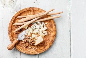 parmesanost och dorblu foto
