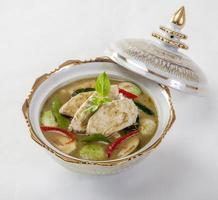 kyckling grön curry foto