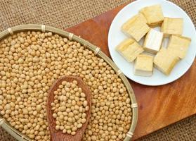 produkt från sojabönor foto