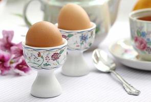 kokta ägg foto
