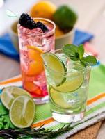 två cocktails