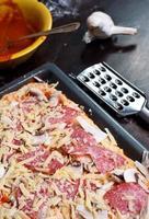 hemgjord pizza