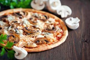 vegetarisk pizza foto