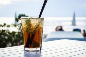 mojito drink foto