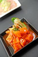 kimchi - koreansk mat foto