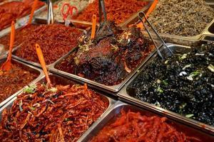 koreansk kimchee foto