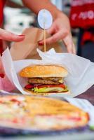 hamburgare foto