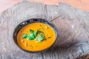 läckra thailändska panang curry foto