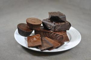 choklad foto