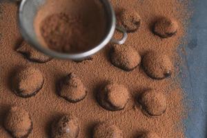chokladtryfflar foto