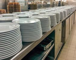 kommersiellt kök foto