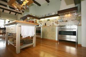 traditionellt kök foto