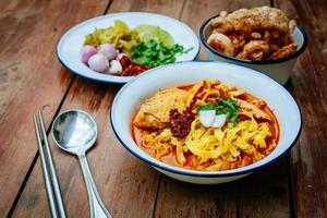 thailändsk mat (norra thai) foto