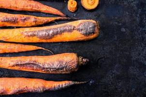 bakade morötter foto