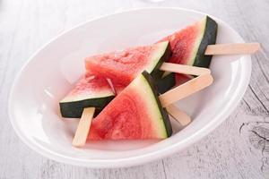 vattenmelonglass foto