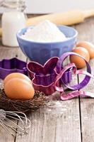 bakning för påsk