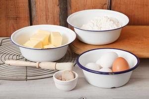 bakning ingredienser