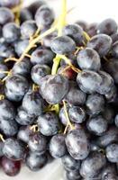 närbild av druvfrukter. foto