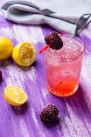 björnbär cocktail foto