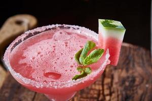 vattenmelon fryst cocktail foto