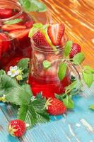 jordgubbsjuice foto