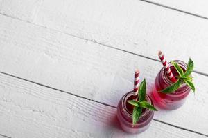 röd juice foto