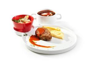 ryska middag foto
