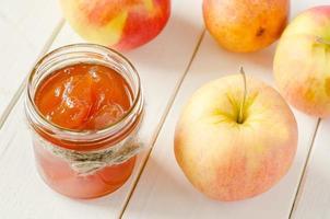 äpplesylt foto