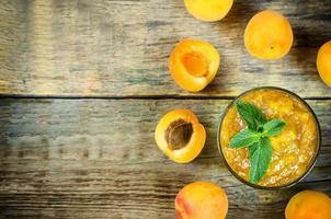 aprikos sylt foto