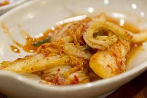 koreanska kimchi foto