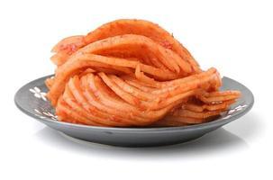 kimchi (koreansk mat) foto