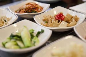 koreanska sidorätter foto