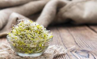 broccoli groddar foto