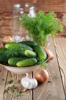 att göra pickles foto