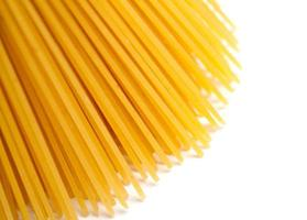 spagettipasta på nära håll