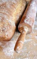 naturligt bröd foto