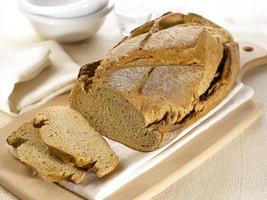 brunt bröd foto