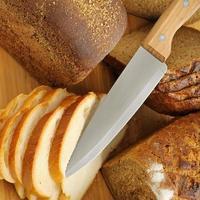 skuren bröd foto