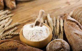 traditionellt bröd foto