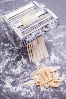 maskin och pasta foto