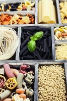 blandade pasta foto