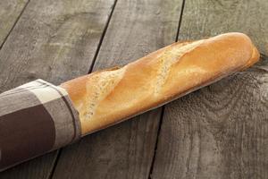 fransk baguette foto