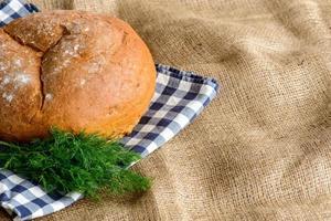 bild av bröd limpa foto
